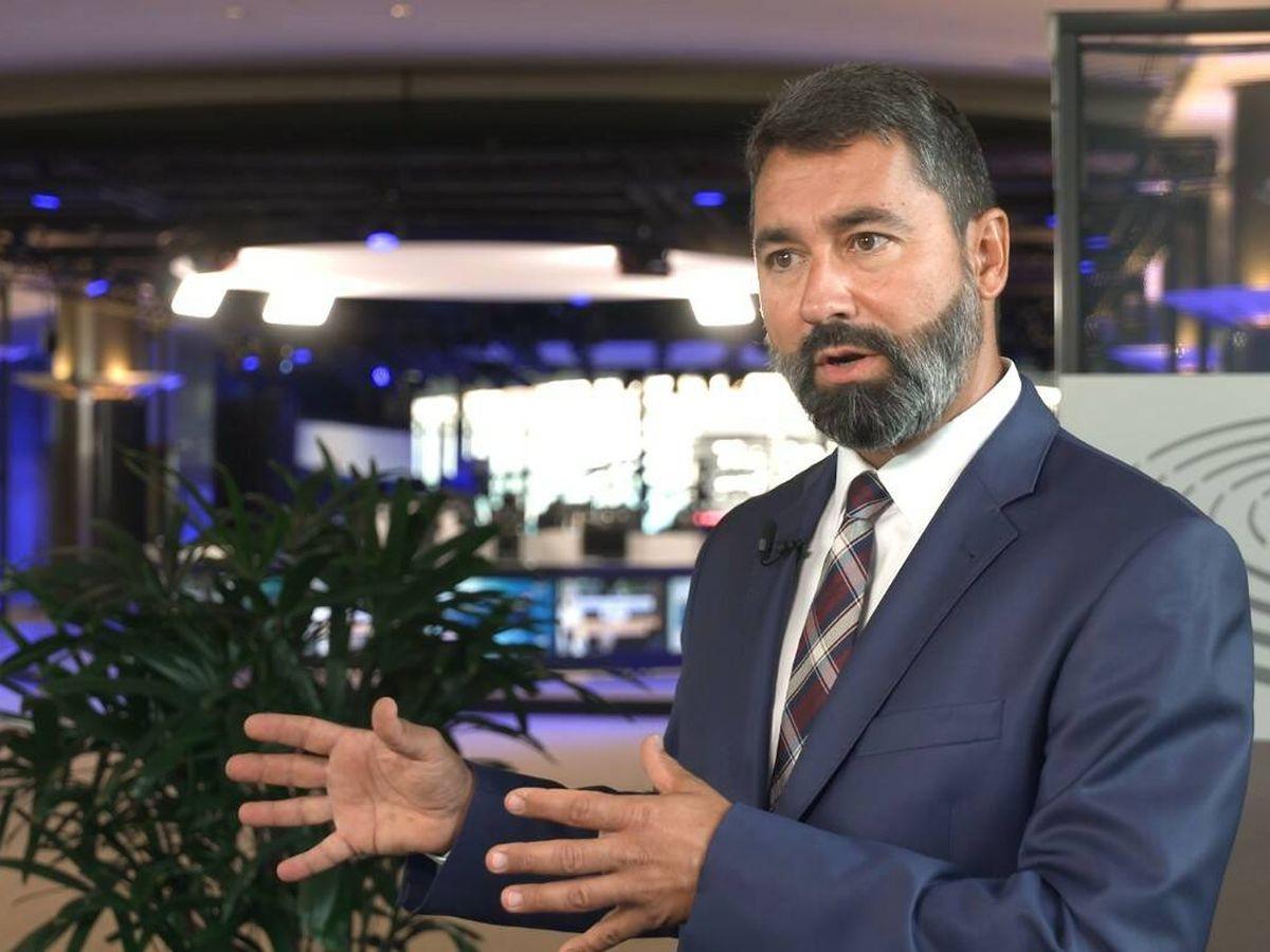 Foto: Balázs Hidvéghi, eurodiputado húngaro. (María Zornoza)