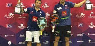 Post de Matías Díaz y Maxi Sánchez estrenan su palmarés en el Mendoza Open