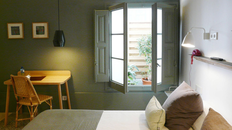 Una habitación de Casa Mathilda
