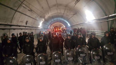 Huelga de metro de Buenos Aires