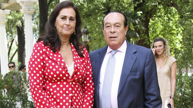 Foto: Carmen Tello junto a su marido, Curro Romero, en una imagen de archivo (Gtres)