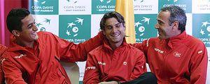 Ferrer, Almagro, Granollers y López jugarán la semifinal de Copa Davis contra EEUU