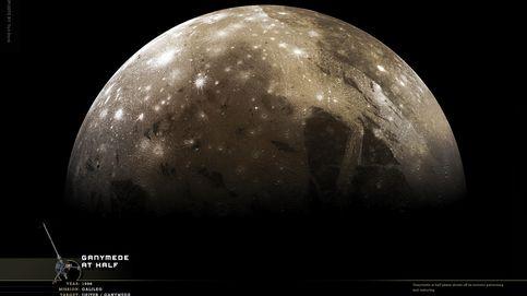 Detectan una señal de radio desde Ganímedes