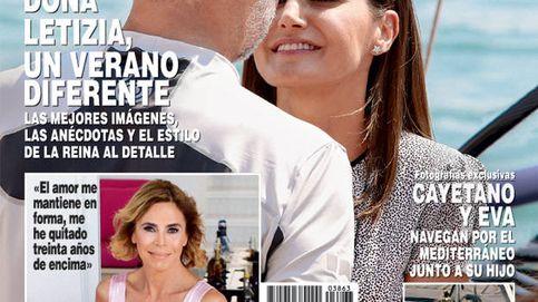 El verano diferente de Felipe y Letizia y la confesión de María Teresa Campos