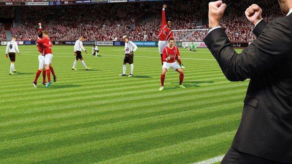 Foto: Una captura de pantalla de Football Manager, donde Messi también es el mejor.