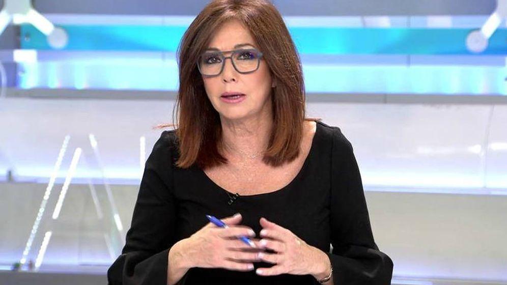 Foto: Ana Rosa Quintana, en 'El programa de AR'. (Mediaset España)