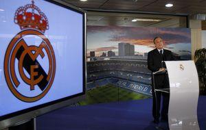 Florentino acude a Valdebebas para pedir compromiso al equipo