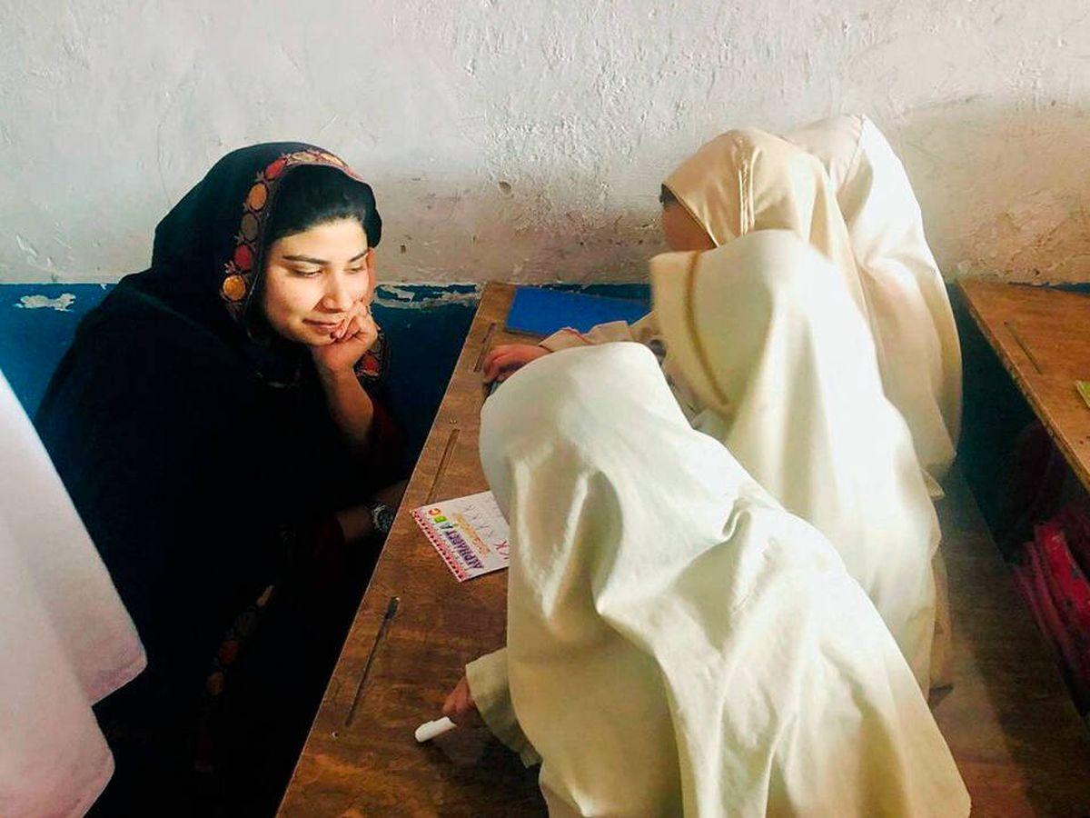 Foto: La activista por la educación, Pashtana Durrani.