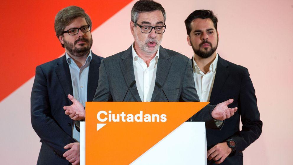 Hervías, Villegas, Páramo... la 'voladura' controlada del riverismo en Ciudadanos