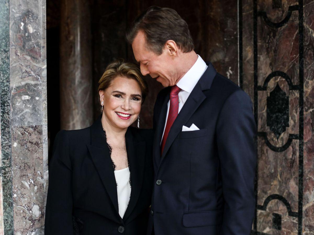 Foto: Los grandes duques de Luxemburgo. (EFE)