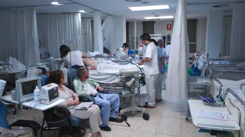 Foto: Una de las salas de Urgencias del Hospital La Paz.