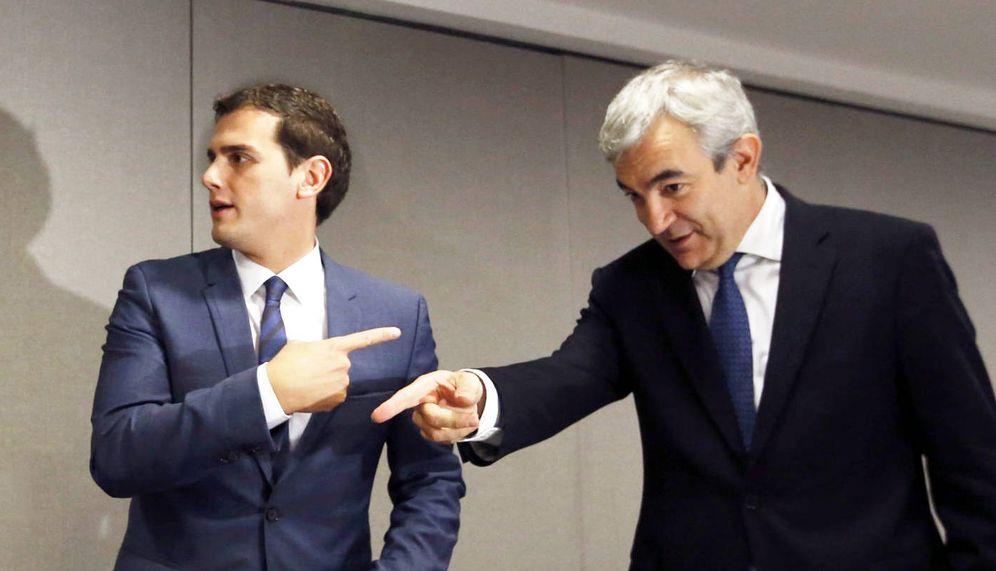Foto: Albert Rivera y Luis Garicano. (EFE)