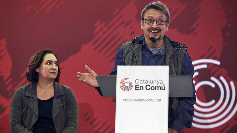 El cabeza de lista de Catalunya en Comú-Podem (CatComú-Podem), Xavier Domènech. (EFE)