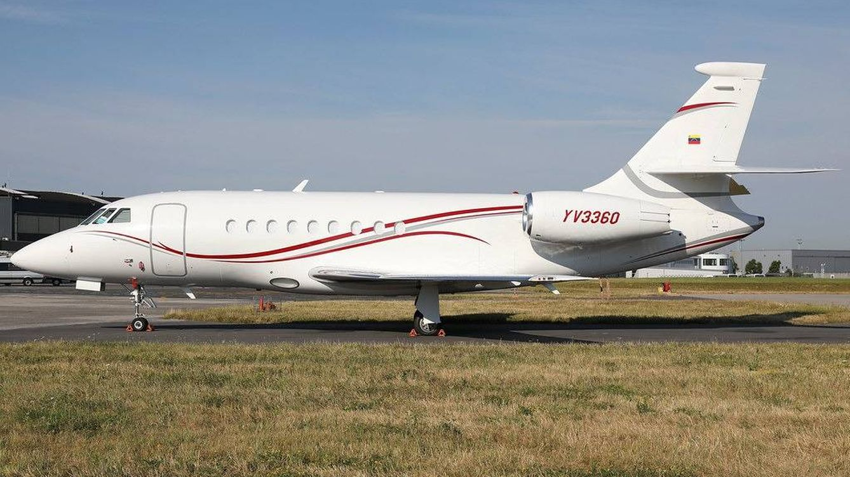 EEUU 'embargó' un avión que usa la número 2 de Maduro a las 24 h de verse con Ábalos