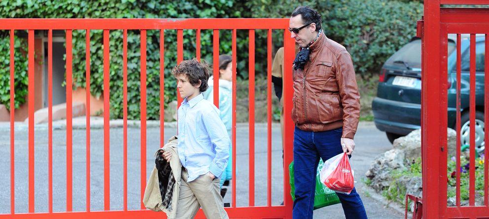 Foto: Jaime de Marichalar, junto a su hijo Froilán en una imagen de archivo (Gtres)