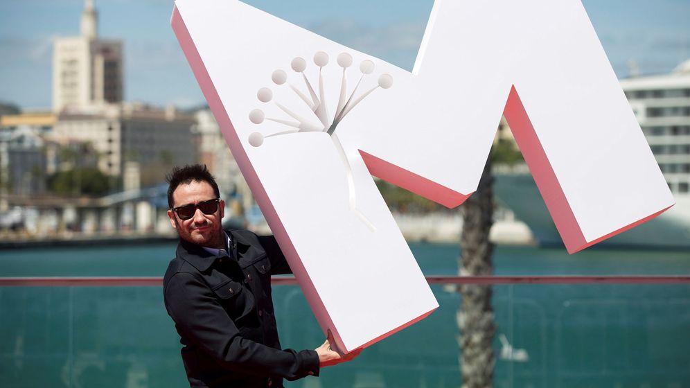 Foto: Juan Antonio Bayona, hoy, en el Festival de Málaga (Efe).