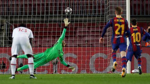 Keylor Navas evita la remontada del Barça en París con una exhibición bajo palos (1-1)