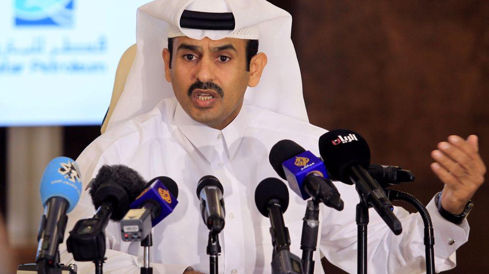 Foto: Saad al-kaabi, ministro de petróleo de Qatar (Reuters)