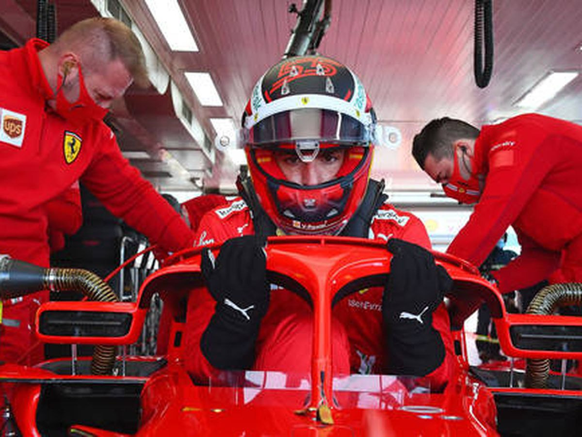 Foto: La próxima vez que Carlos Sainz se suba a un Ferrari será en Bahrein, y ya con el SF21