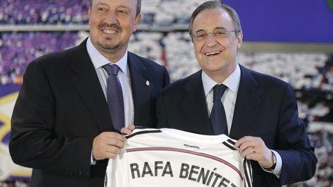 Benítez quiso entrenar a un Madrid que ya no existe con el 'abuelo' Florentino