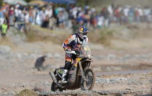Marc Coma alcanza la última etapa como virtual ganador del Dakar