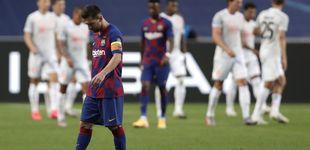 Post de El Barcelona se queda desnudo y sin rumbo: esto ya no puede arreglarlo Messi