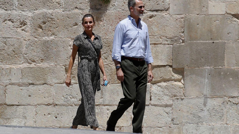 El rey Felipe VI y la reina Letizia, en Cuenca. (EFE)