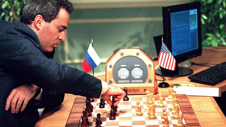 Gari Kaspárov contra 'Deep Blue' en 1997
