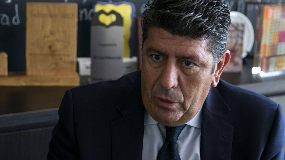 Foto: Vilches es director gerente del Hospital NISA Pardo de Aravaca. (Ernesto Torrico)