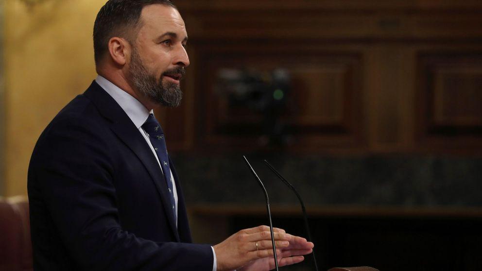 Abascal acusa a Sánchez de crear un frente popular que romperá España