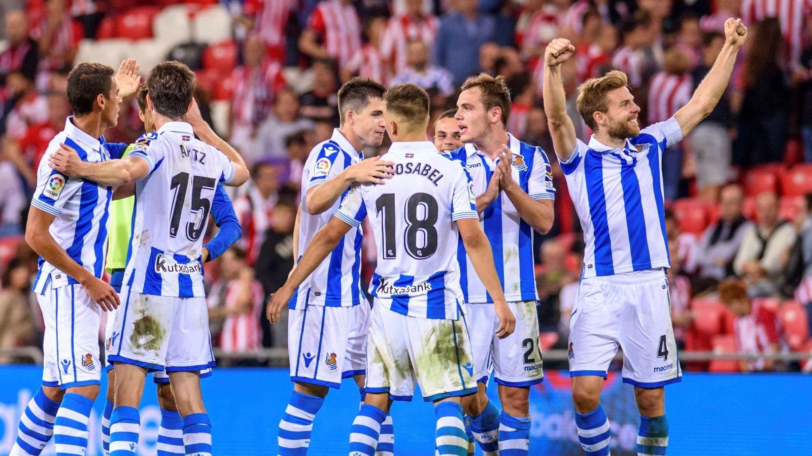 Real Sociedad - Girona en directo: Resumen, goles, minuto ...