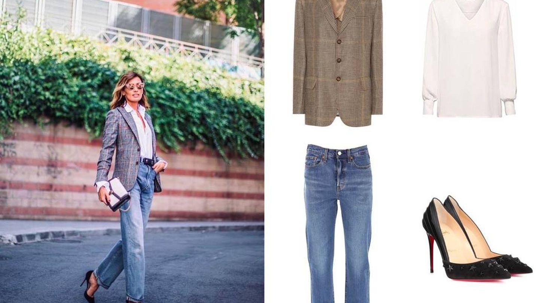 Recrea este outfit de Nieves Álvarez con prendas que seguro ya tienes en tu vestidor. (Instagram)