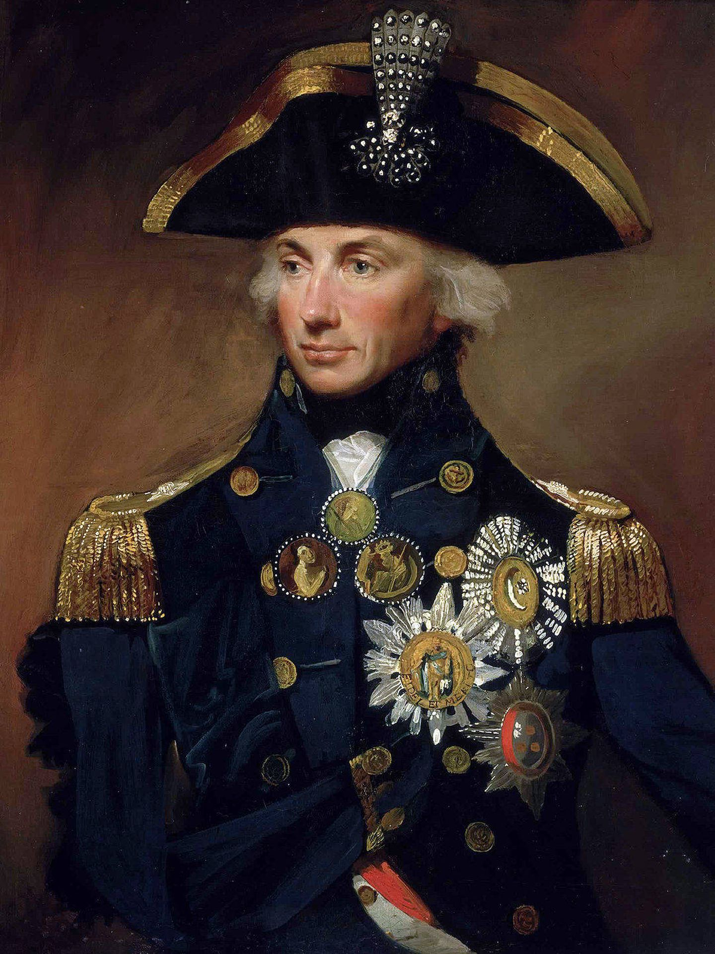 El comandante Nelson.