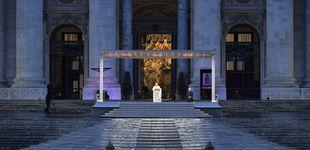 Post de El Papa Francisco bendice al mundo desde una Plaza de San Pedro totalmente desierta
