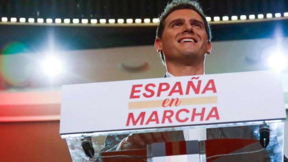 Foto: El líder de Ciudadanos, Albert Rivera, este sábado en Madrid. (EFE)