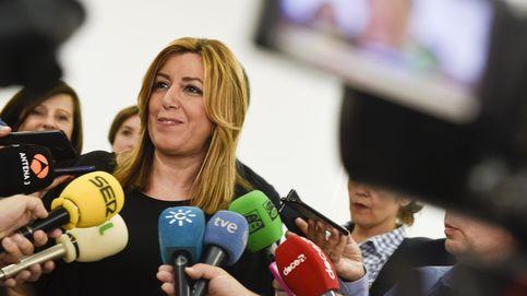 """Susana Díaz, """"en primera línea"""" del Brexit, avisa: la sanidad deja de ser gratis"""