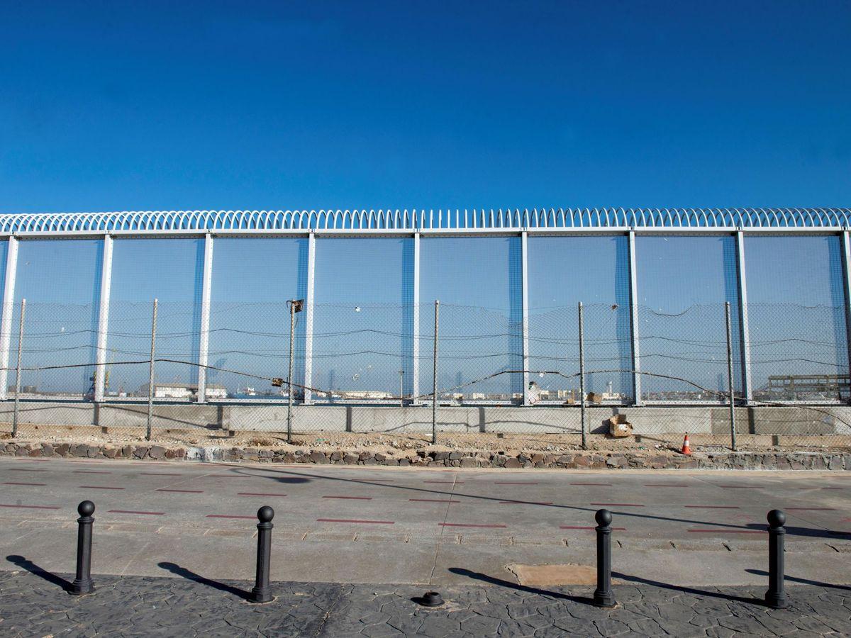 Foto: La valla fronteriza de Melilla. (EFE)