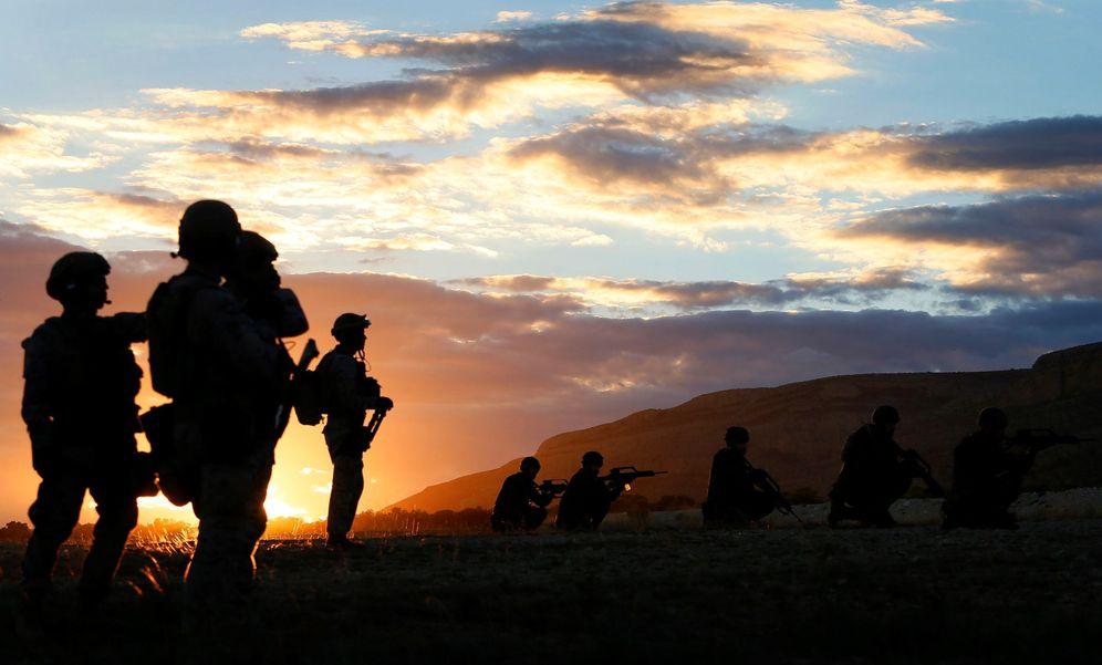 Foto: Maniobras del Ejército español. (EFE)