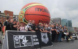 Aficionados del Bilbao Basket piden que su equipo regrese a la ACB