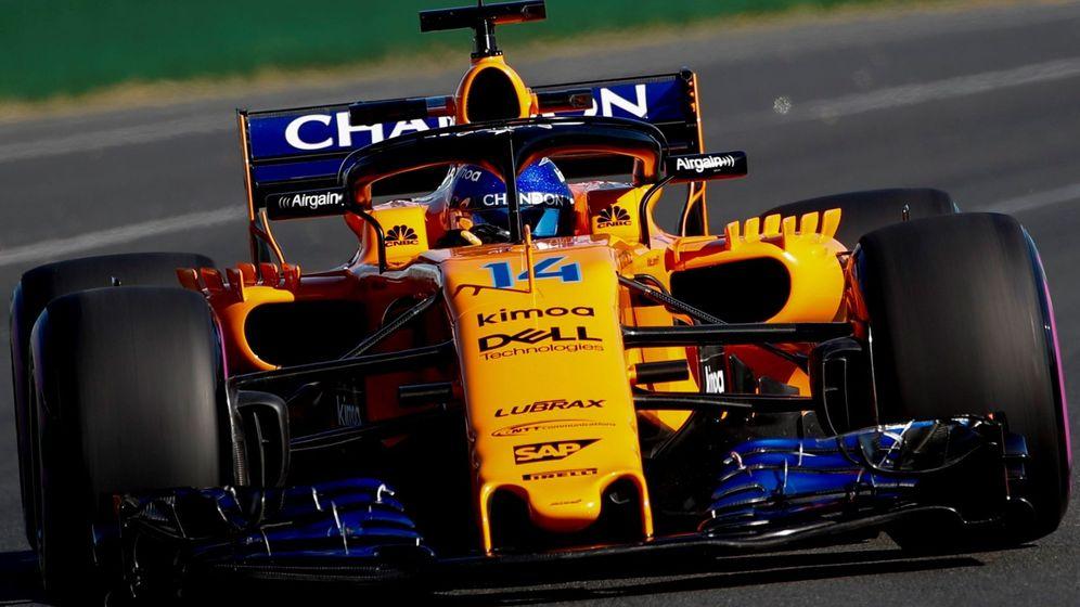 Foto: Fernando Alonso se muestra cauto tras los primeros entrenamientos libres del GP de Australia. (Reuters)