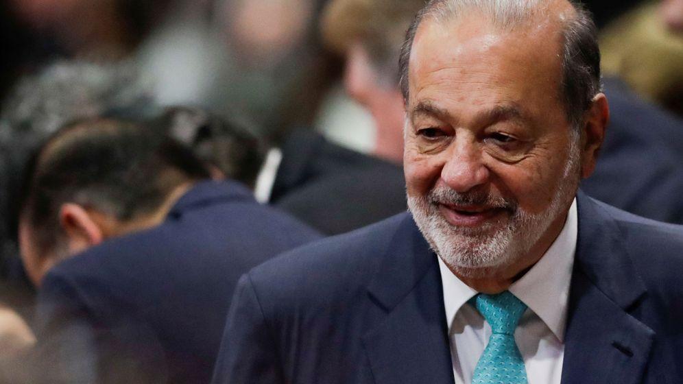 Foto: Carlos Slim, en una foto en México en diciembre pasado. (Reuters)