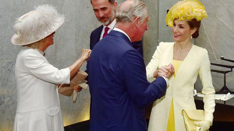 El príncipe Carlos, anfitrión de Letizia en su viaje fugaz a Londres