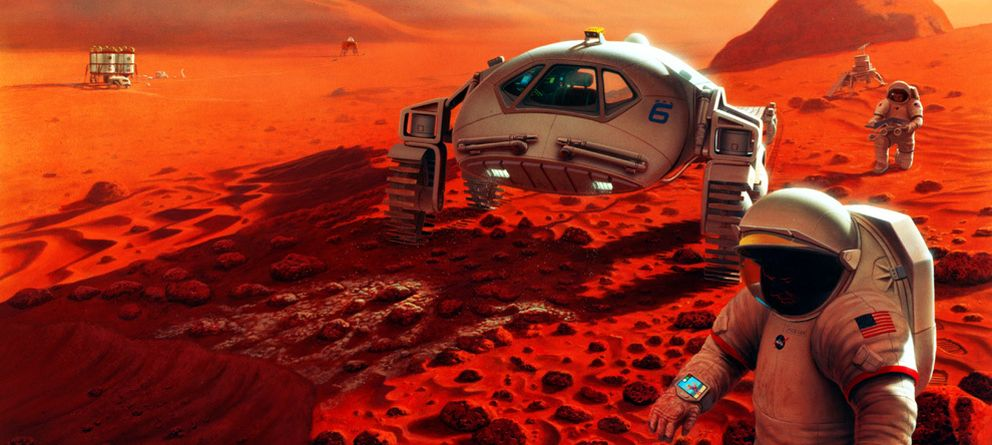 Foto: Los pequeños pasos que separan la Tierra de Marte