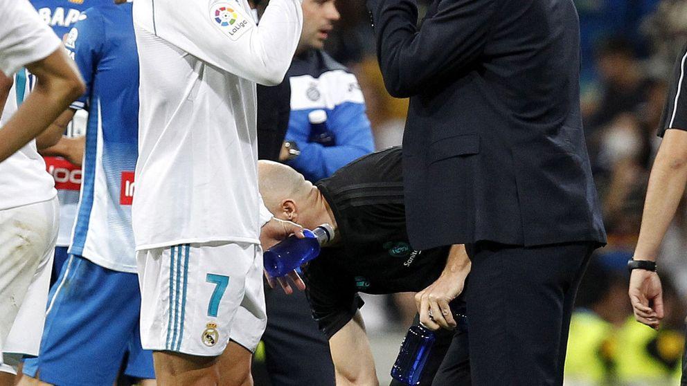La charla de Zidane con Cristiano Ronaldo para rebajar su ansiedad