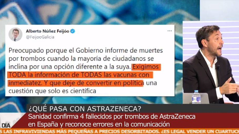 Javier Ruiz, colaborador de 'Cuatro al día'. (Mediaset España)
