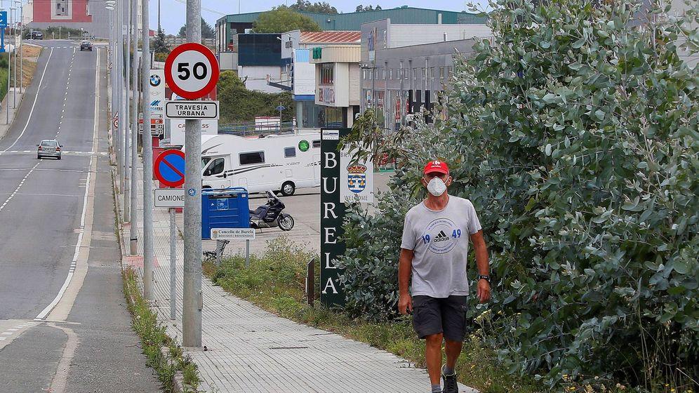 Foto: Burela (Lugo), el municipio más afectado por el coronavirus en la comarca de A Mariña (EFE)