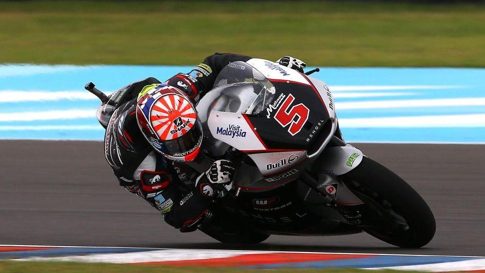 Foto: Zarco en el circuito Termas del Río Hondo (MotoGP).
