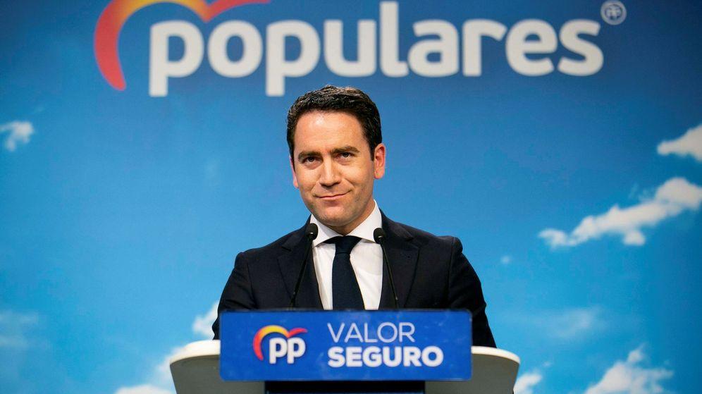 Foto: El secretario general del PP, Teodoro García Egea. (EFE)