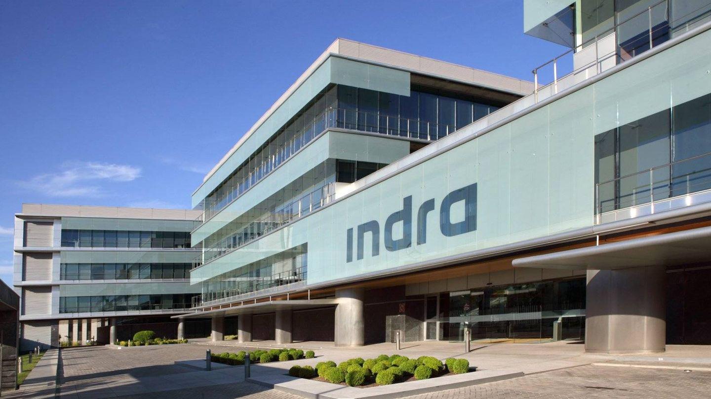 Imagen de la sede de Indra en Madrid. (Indra)