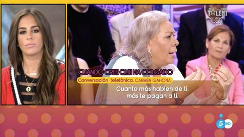 Anabel Pantoja se emociona al responder a Carmen Gahona
